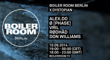 Boiler Room X Dystopian