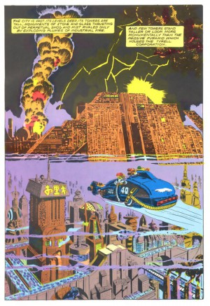 See Marvel Comics 1982 version of Blade Runner