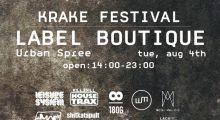04.08.2015 Dystopian at Krake Festival Label Boutique