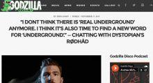Rødhåd interview at Godzilla Disco