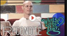 Recondite – What's in my bag? at Amoeba Music
