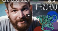 Rødhåd – What's In My Bag?