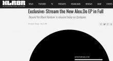 XLR8R exclusive: Stream the new Alex.Do EP in full