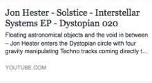 Jon Hester – Solstice full video on youtube