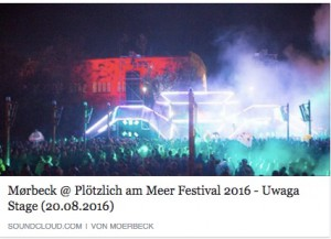 download: Mørbeck's set at Plötzlich am Meer Festival