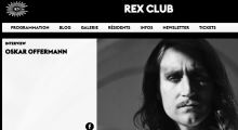 Oskar Offermann interview with Rex Club Paris