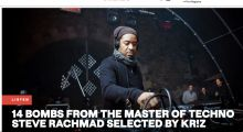 Trax Magazine: Kr!z selects his favourite Steve Rachmad tracks