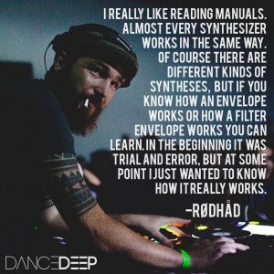 The Roots of Rødhåd, interview at dance deep