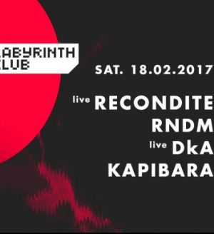 Recondite Live, RNDM at Labyrinth Club