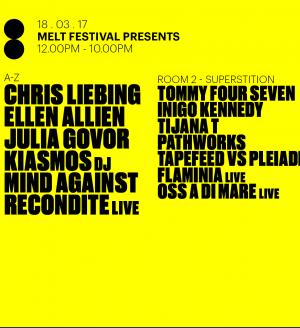 Melt Festival x Printworks London w/ Recondite, Tijana T