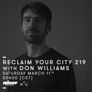 Reclaim Your City 219: Don Williams
