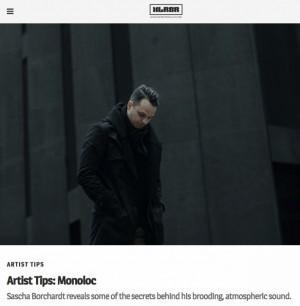 XLR8R Artist Tips: Monoloc