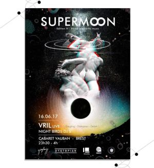 Supermoon: Vril Live + Night Birds Dj's
