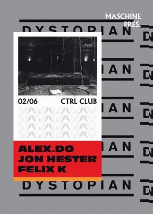 02.06.2017: Dystopian at Control Club Bucuresti