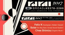 13. july: rural 2017 on Dommune with Felix K