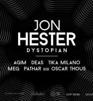 Jon Hester / Deas bday party x Prozak 2.0