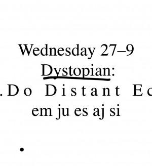 Dystopian: Alex.Do, Distant Echoes
