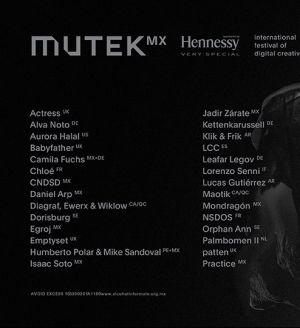 Mutek.MX 2017 w/ Rødhåd, Vril