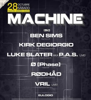 Machine: Ø [Phase], Rødhåd, Vril