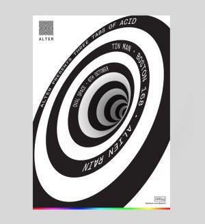 Alter presents: Three Tabs of Acid with Tin Man, Boston 168, Alien Rain