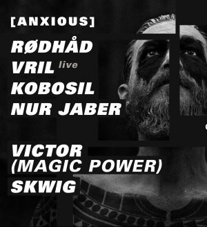 Concrete X Dystopian: Rødhåd / Vril / Kobosil / Nur Jaber / Victor