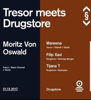 Tresor meets Drugstore with Moritz von Oswald, Mareena, Tijana T