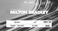 DTOX x Alphabet: Milton Bradley