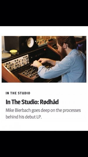 XLR8R In The Studio: Rødhåd