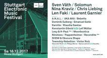 Recondite at SEMF – Stuttgart Electronic Music Festival 2017