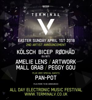Rødhåd at Terminal V 2018 – Easter Sunday Festival