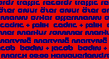 5 Years Traffic Records w/ Oskar Offermann