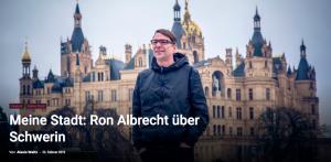 Groove Magazin 171 – Meine Stadt: Ron Albrecht über Schwerin