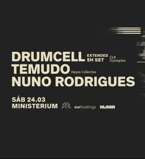 Drumcell 5 Hour set at Ministerium