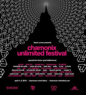 Sven Weisemann at Chamonix Unlimited Festival 2018