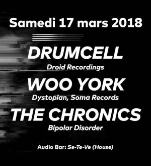 Drumcell at Audio Club