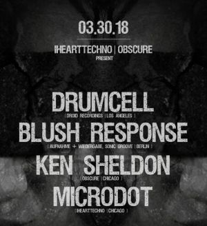 Obscure 017 x IHeartTechno: Drumcell