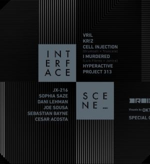 Cell Injection [Drumcell + Truncate], Kr!z, Vril at Interface – Scene 2018