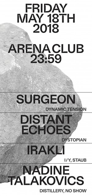 Dystopian w/ Distant Echoes, Irakli, Nadine Talakovics, Surgeon