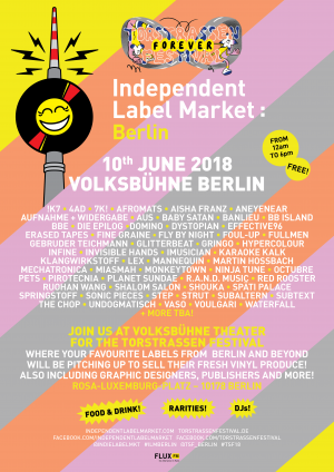 10 june 2018: Dystopian at Independent Label Market at Volksbühne Berlin