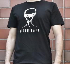 back in: Alien Rain t-shirts
