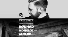 23nov2018: Dystopian w/ Alex.Do, Monoloc, Rødhåd at D! Club, Lausanne