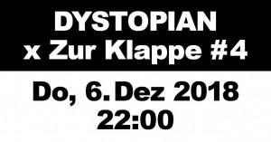 06dec2018: Dystopian x Zur Klappe #4, Berlin