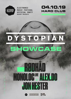 04 october 2019: Neopop presents Dystopian showcase, Porto w/ Alex.Do, Jon Hester, Monoloc, Rødhåd